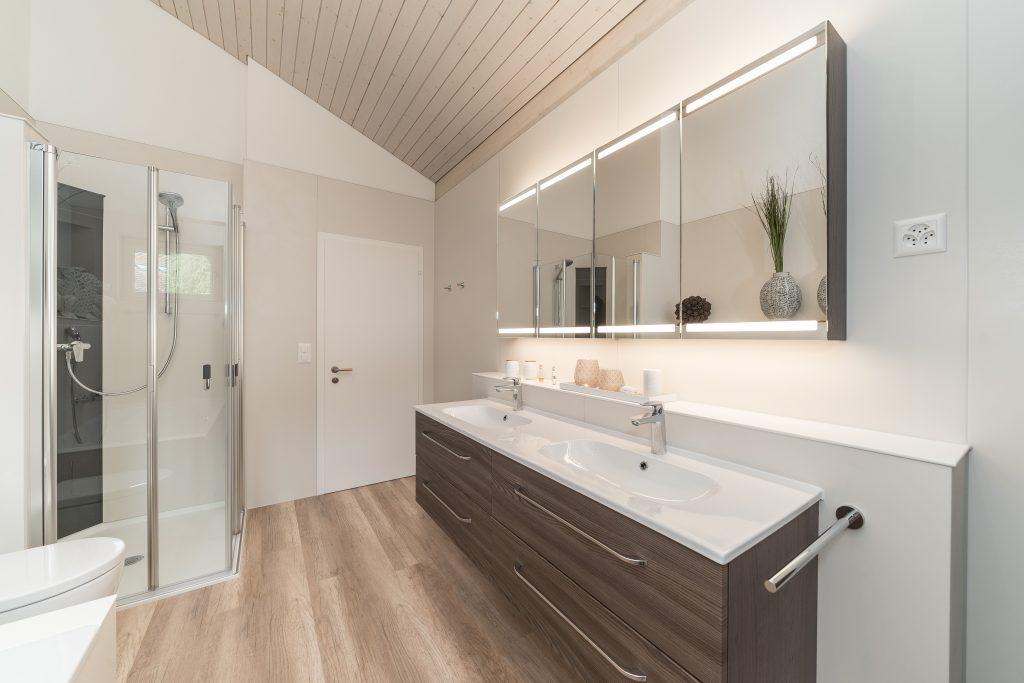 Beispiel eines Viterma Franchise Badezimmers